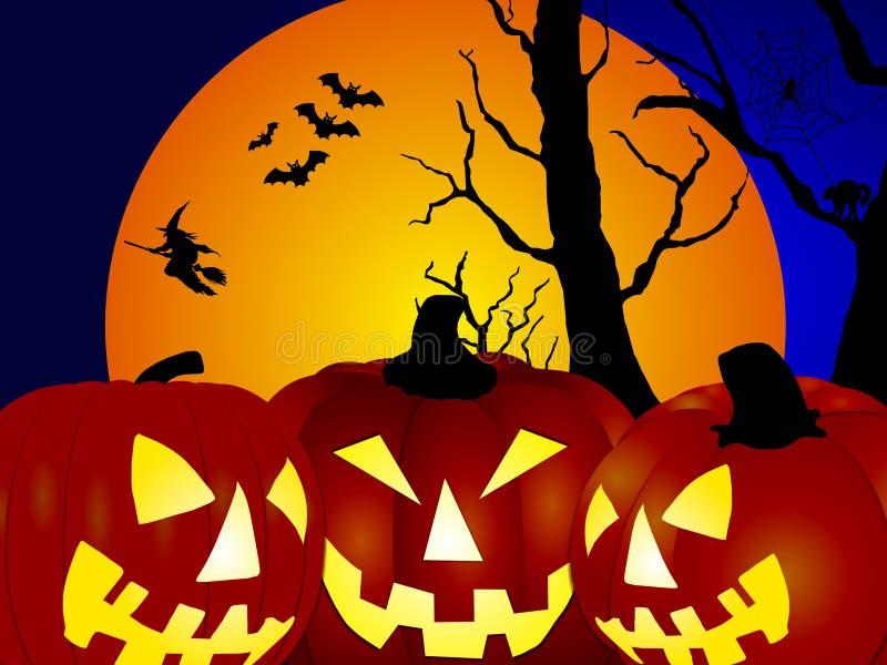 bats ведьма тыкв бесплатная иллюстрация