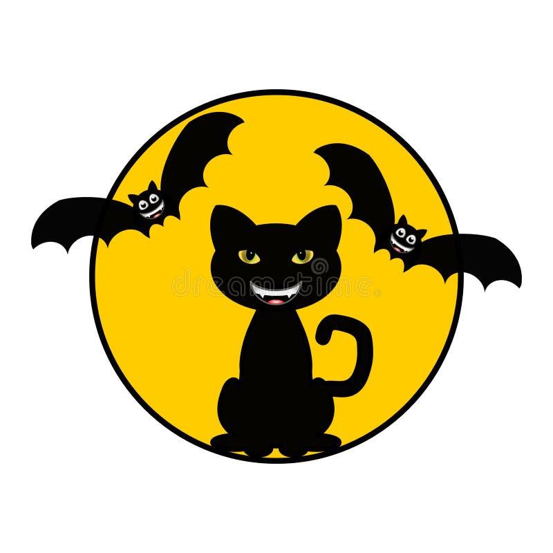 bats кот стоковая фотография rf
