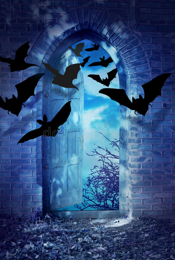 Download Bats in the moonlight stock illustration. Image of retro - 21644121