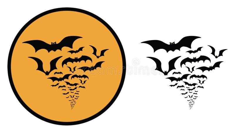 Bats swarm halloween icon stock vector illustration of mascot download bats swarm halloween icon stock vector illustration of mascot 100569600 publicscrutiny Images