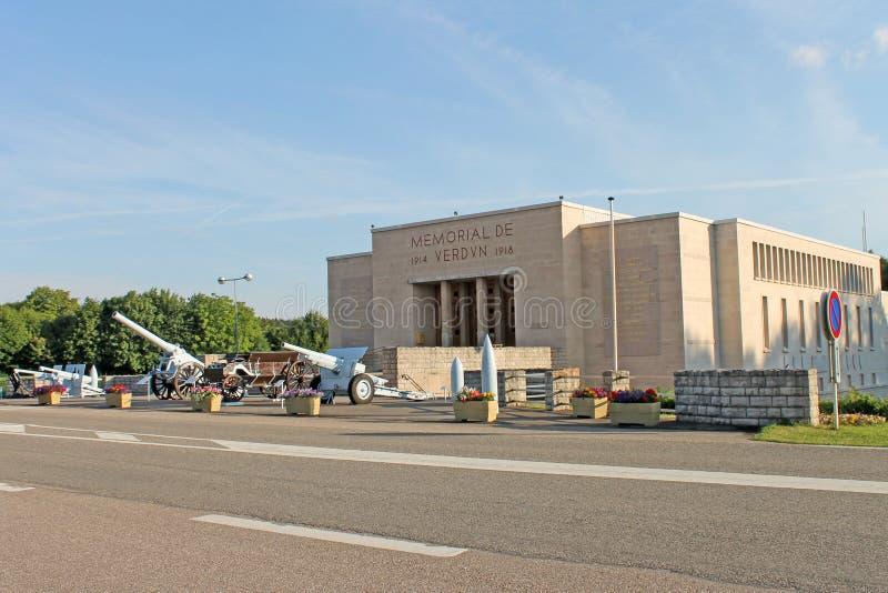 Battaglia del museo commemorativo di Verdun, Francia fotografia stock libera da diritti
