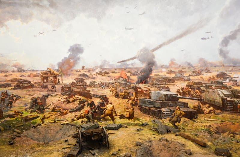 Battaglia di Kursk fotografia stock libera da diritti