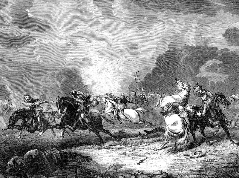 Battaglia di Naseby illustrazione vettoriale