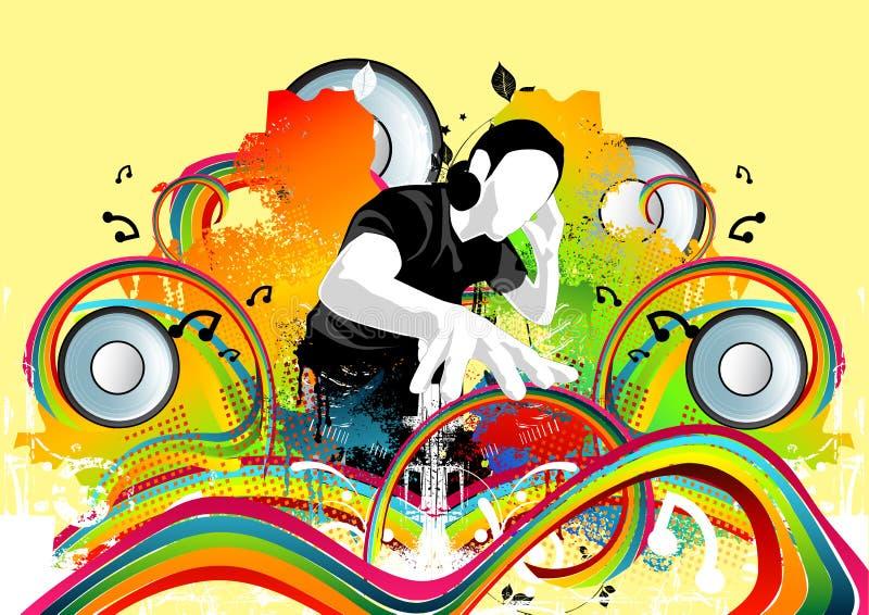 Battements géniaux de disco illustration libre de droits