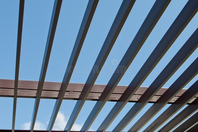 Batten wood. Art of roof batten wood royalty free stock image
