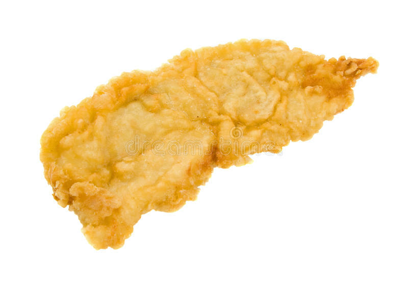 Battered Fish Fillet stock photography