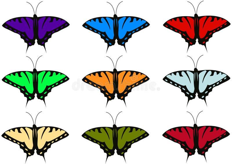 Download Batterflies ilustración del vector. Ilustración de mariposa - 7283914