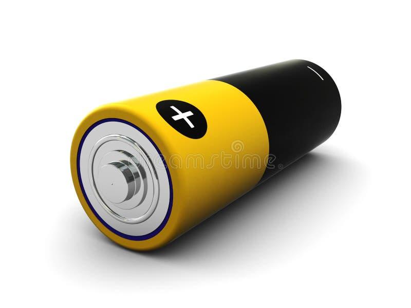batteri stock illustrationer