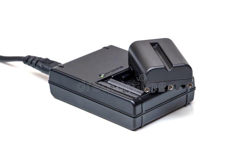 Batteri för DSLR-kamera arkivbilder