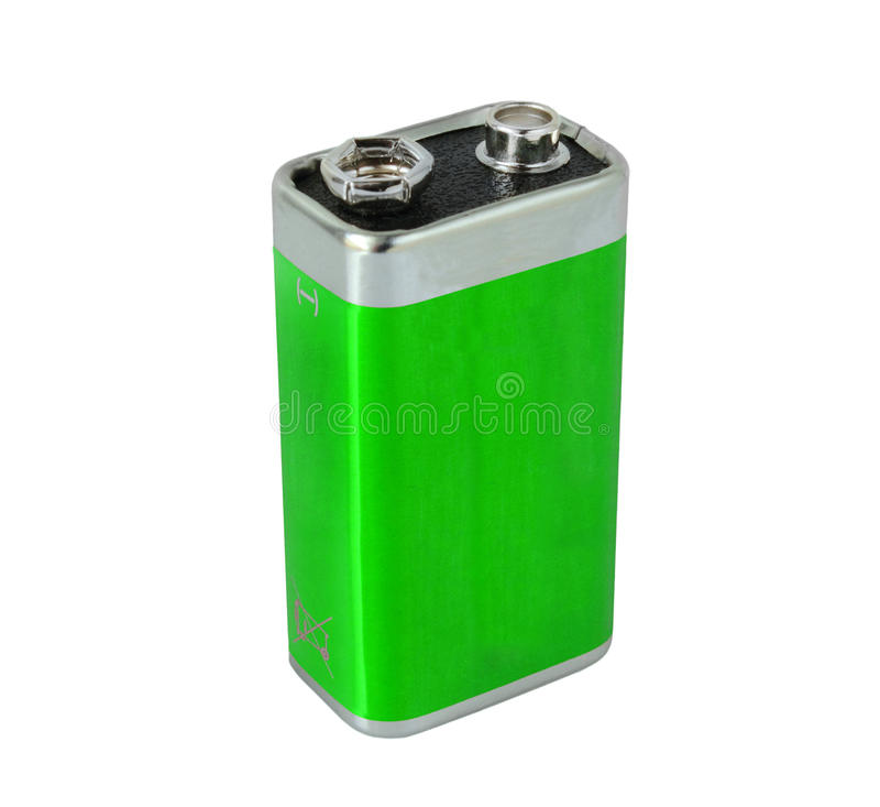 batteria 9V immagini stock libere da diritti