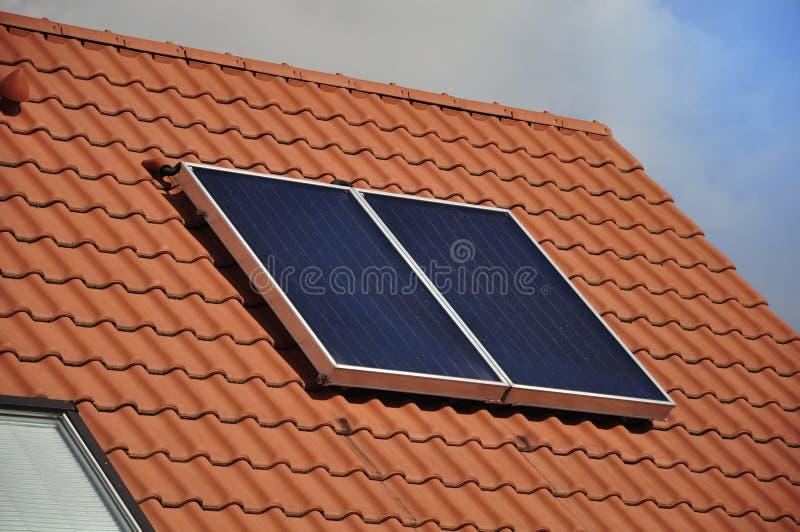 batteria Solare-alimentata immagine stock libera da diritti