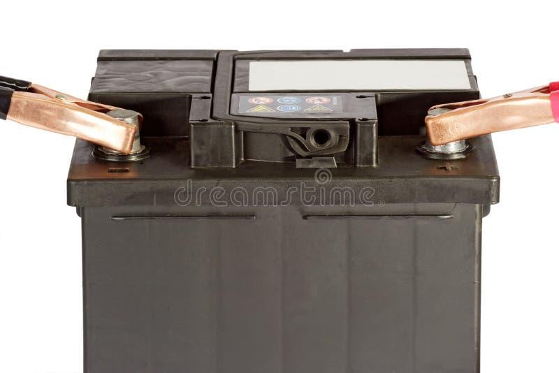 batteribil arkivbilder