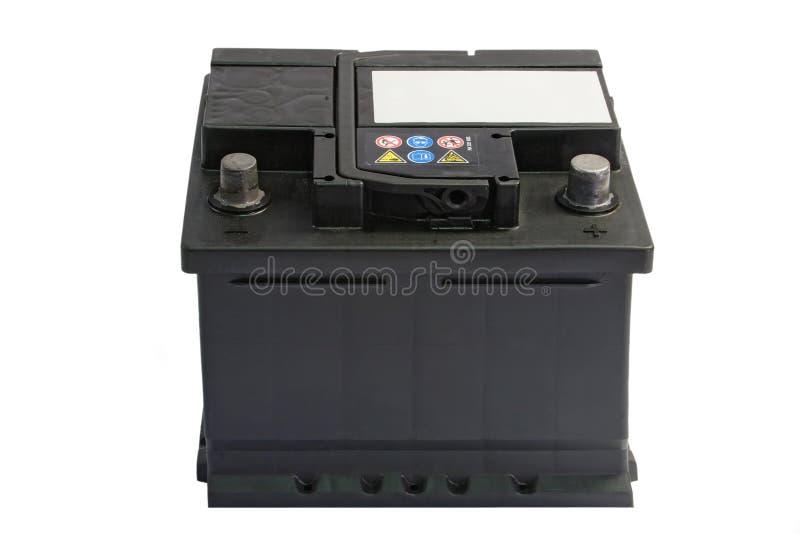 batteribil arkivbild