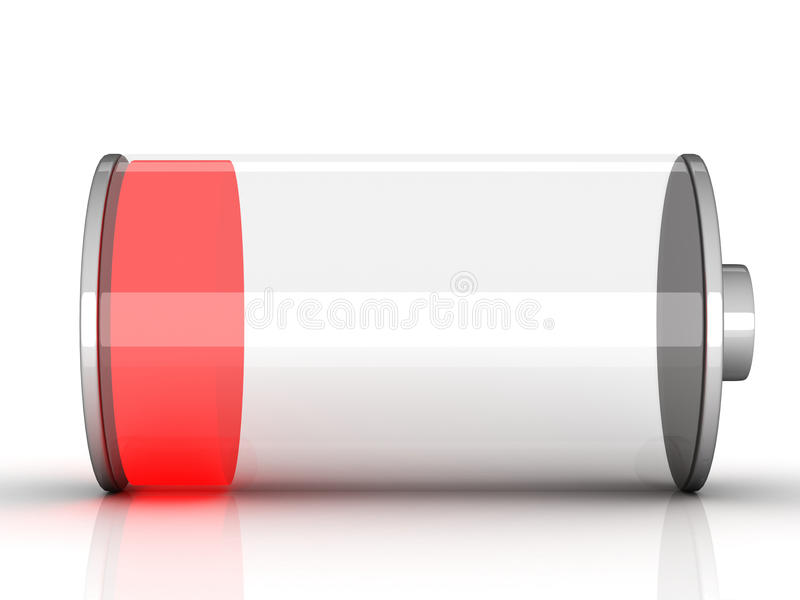 batterie χαμηλός ελεύθερη απεικόνιση δικαιώματος