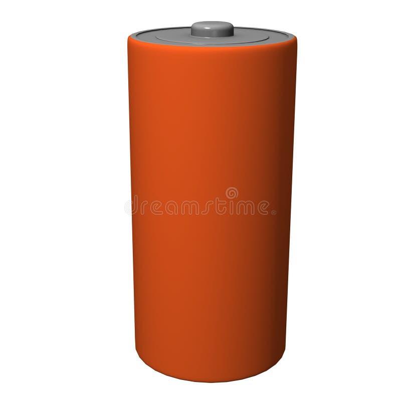 Batterie stock abbildung