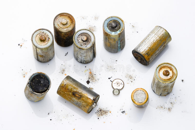 Batterie immagine stock libera da diritti