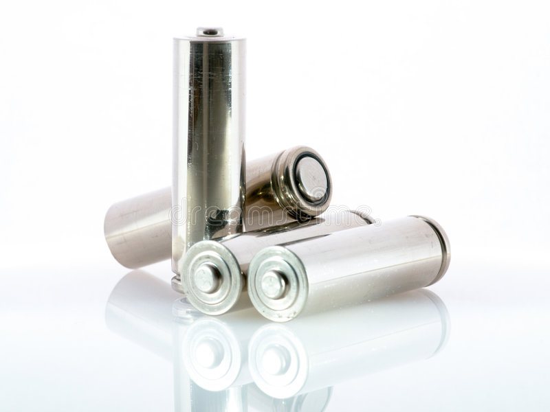 Batterie stockfoto