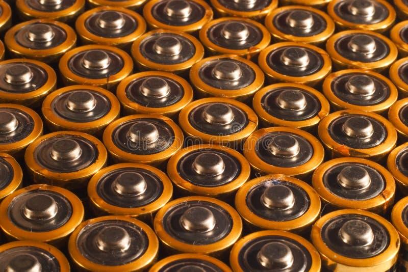 Batterie fotografie stock