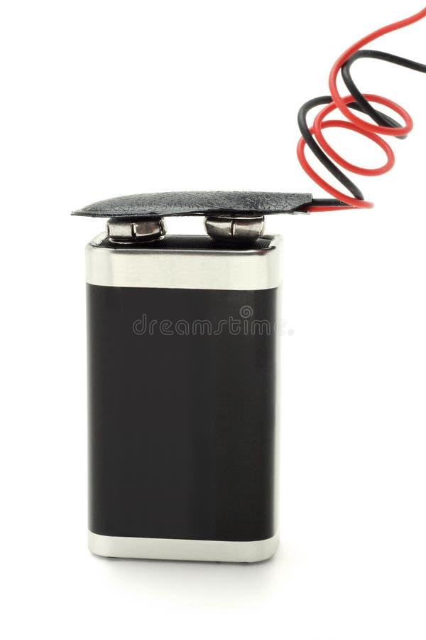 Batterie 9v lizenzfreie stockfotografie