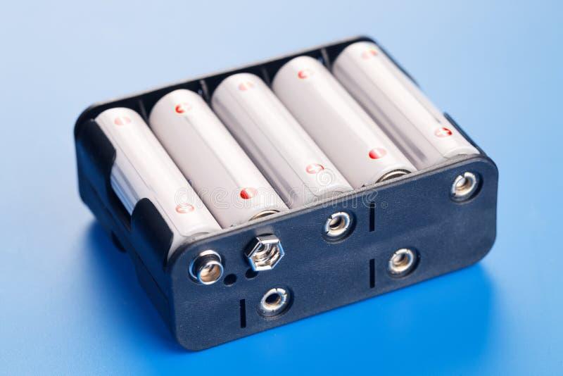 Batterie d'accumulateurs d'accumulateur photographie stock