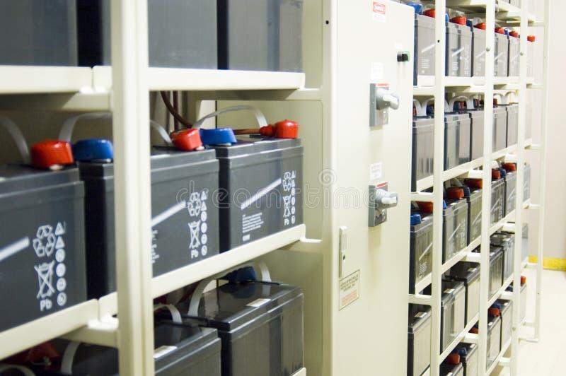 Batterie ininterrotte dell'alimentazione elettrica (UPS) fotografia stock