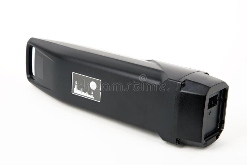 Batterie pour Bicyle électrique photographie stock libre de droits