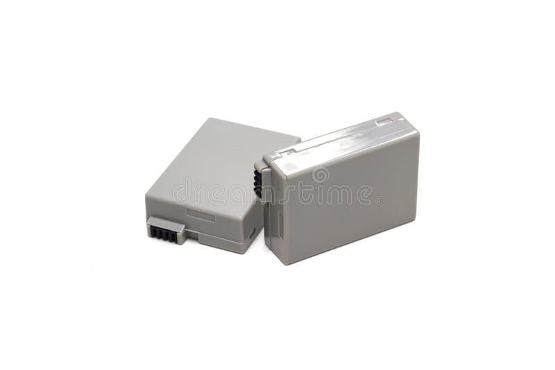 Batterie rechargeable pour un appareil photo numérique d'isolement photos libres de droits