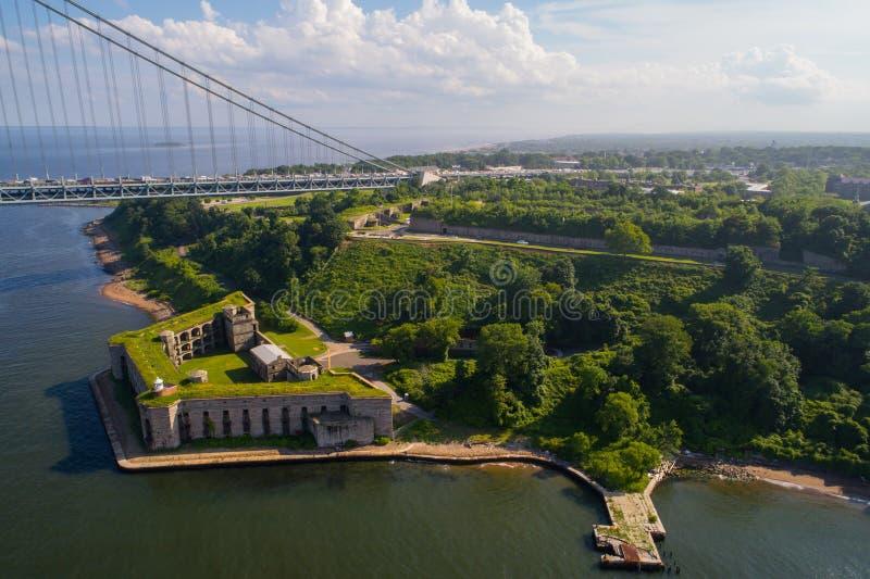 Batterie-Unkraut Staten Island NY lizenzfreies stockfoto