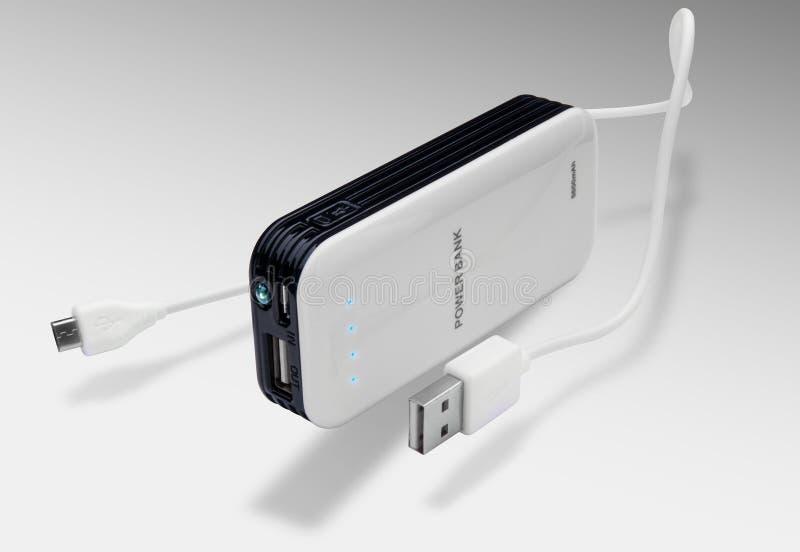 Batterieleistungsbank stockfoto