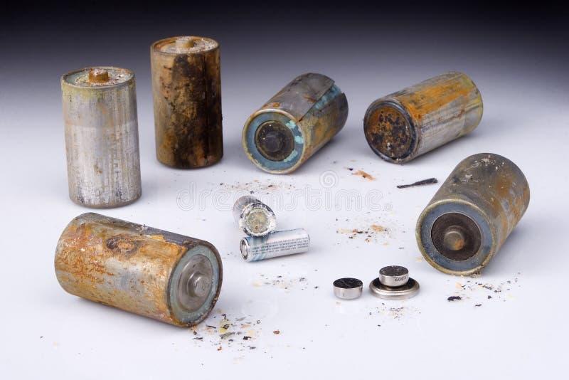 Batterien stockfoto