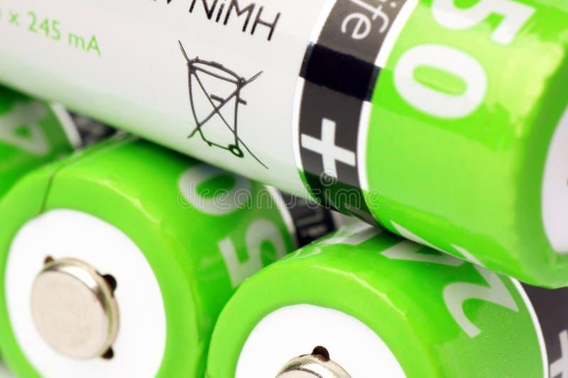 batterier arkivbild