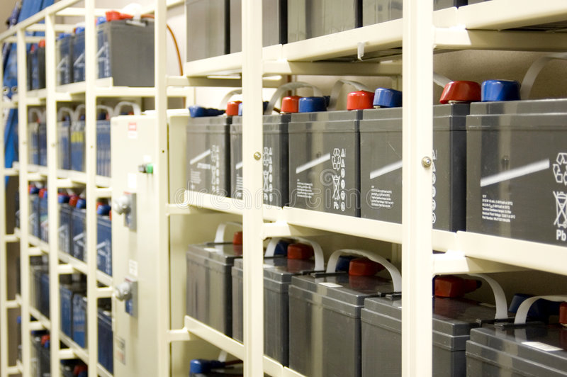 batterier ups arkivbilder