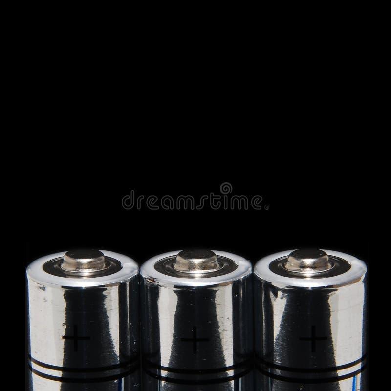 Batteries/énergie photo libre de droits