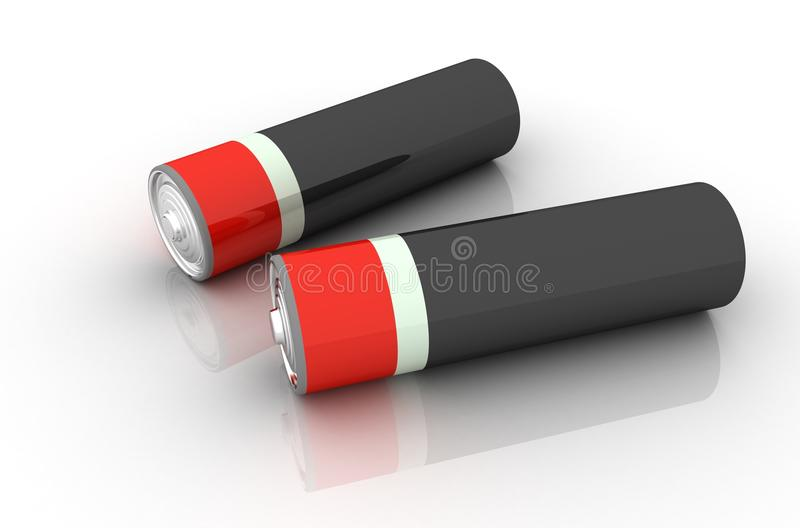 Download Batteries Royalty Free Stock Photography - Image: 12687207