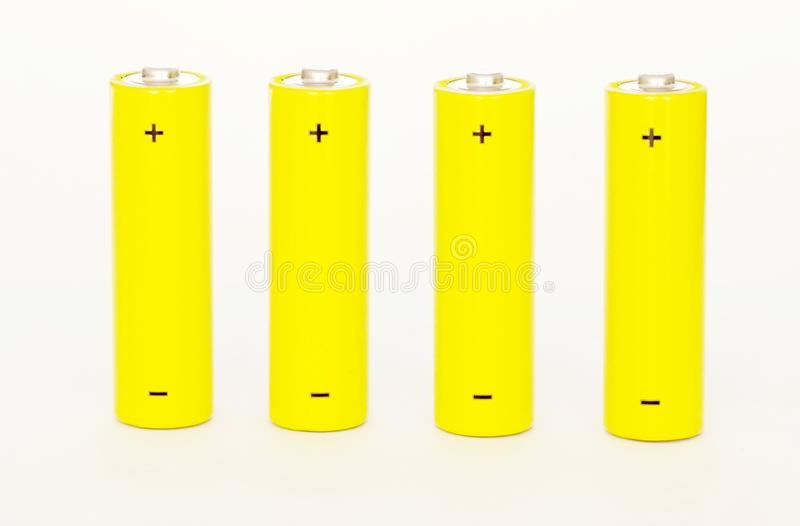 Batteries photos stock