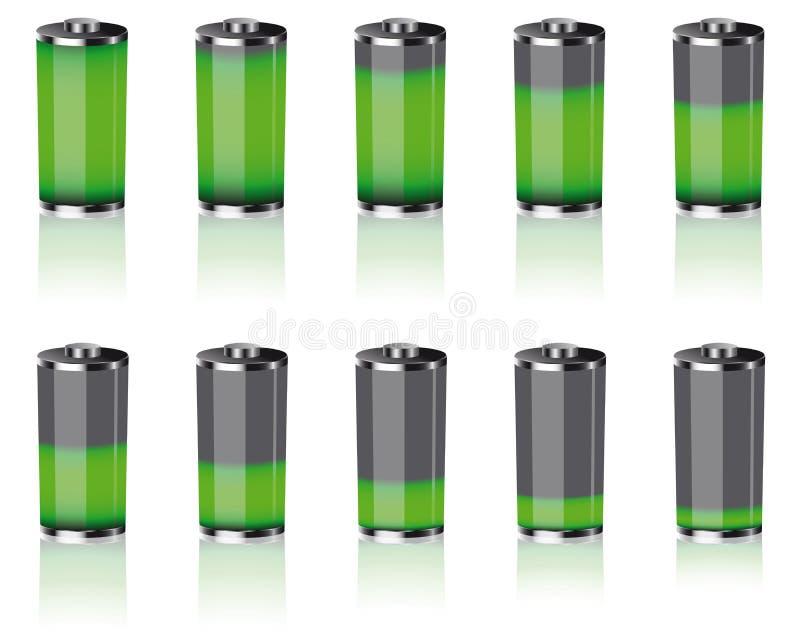 Download Batteries stock vector. Image of batteries, graphic, graphics - 21542950
