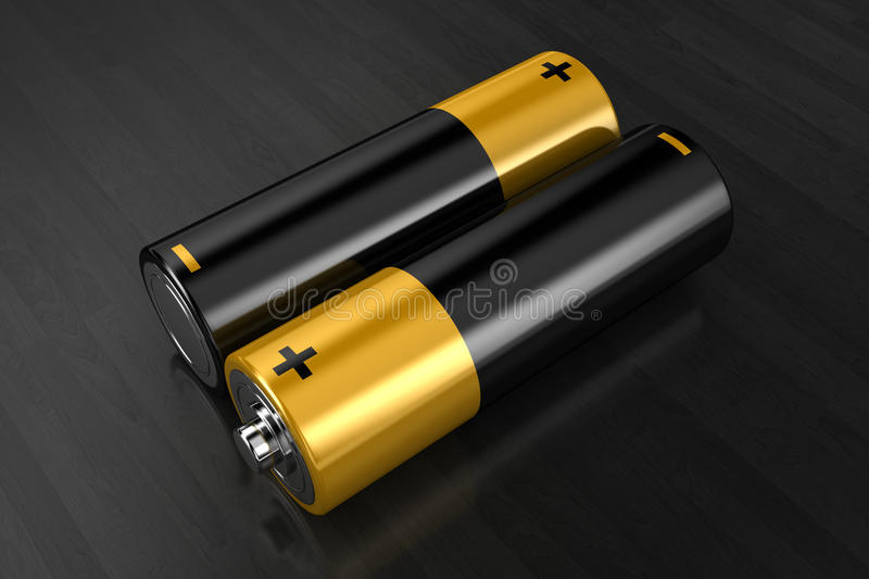 The Batteries Royalty Free Stock Photography
