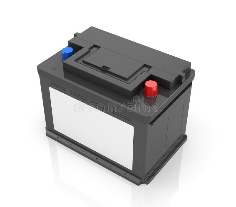 Batteries d'automobile illustration de vecteur
