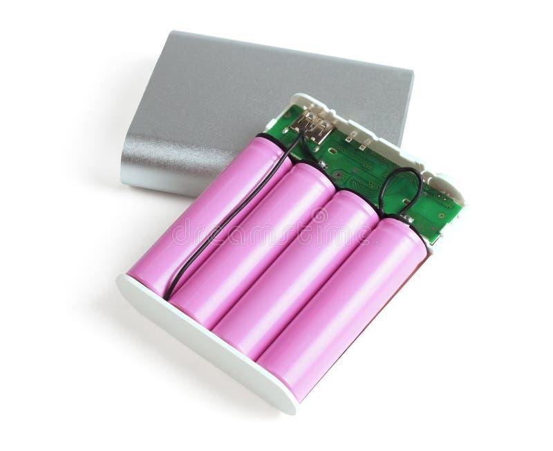 Batteries de banque de puissance images stock