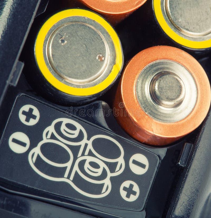 Batteries de chargement photos stock