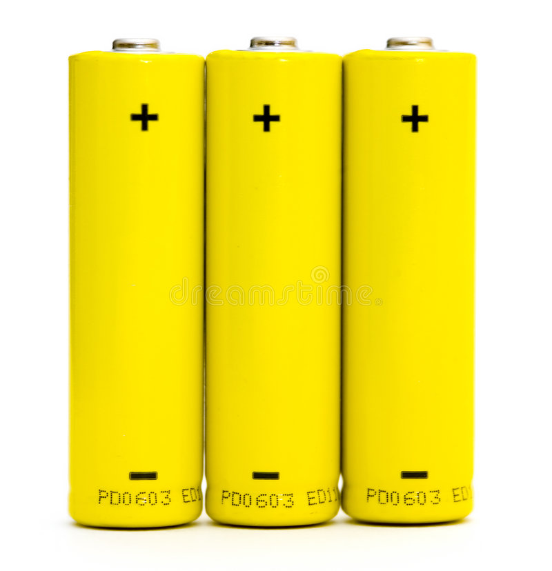 Free Batteries Isolated Stock Photography - 1881852