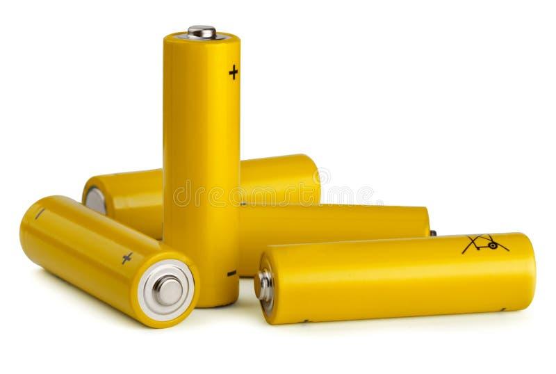 Batterijen royalty-vrije stock fotografie