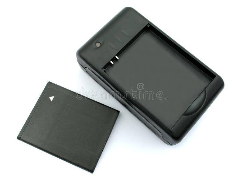 Batteriuppladdare arkivfoton