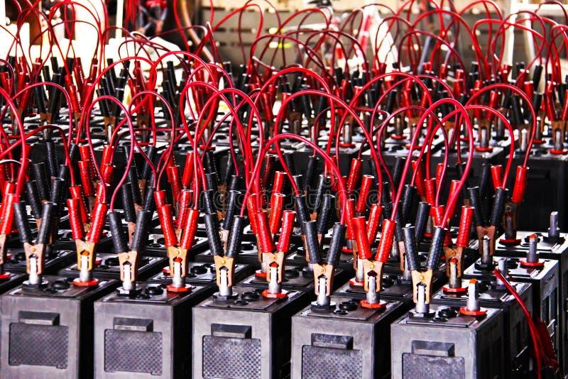 Batteriuppladdning royaltyfria foton