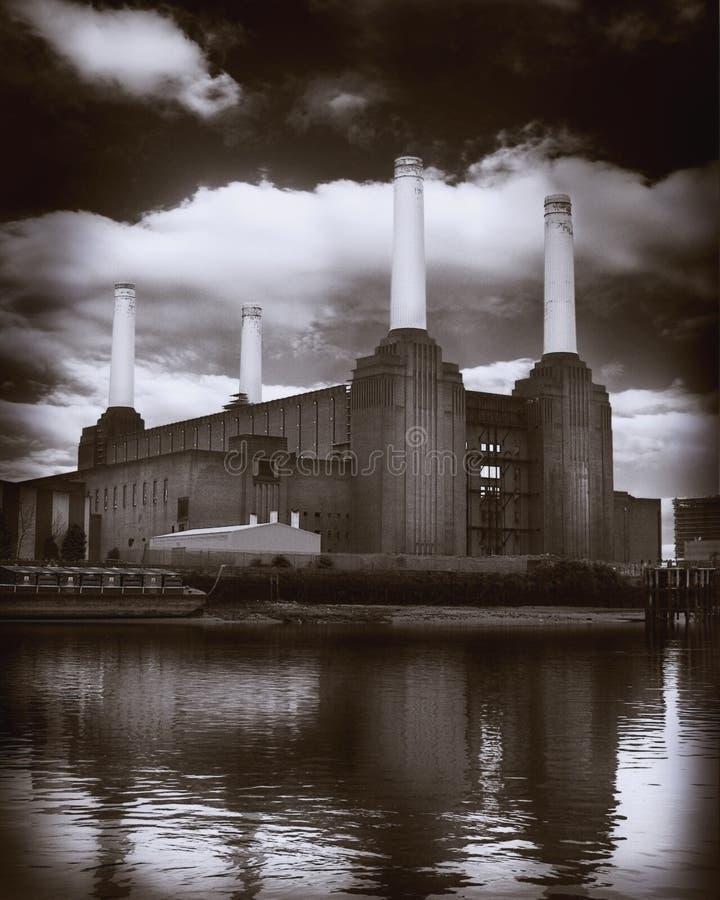 Battersea Kraftwerk lizenzfreies stockfoto