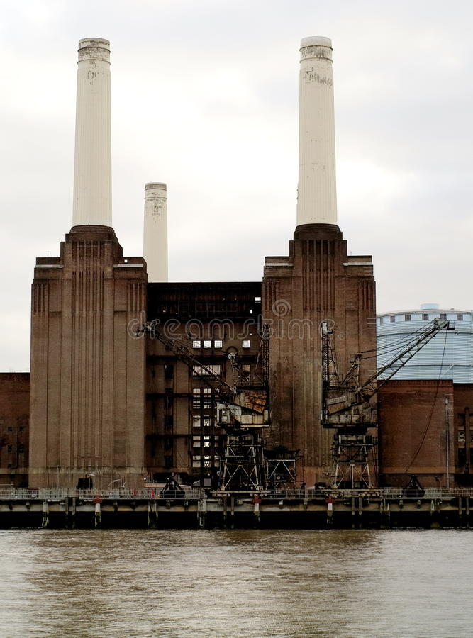 Battersea power plant royalty free stock images