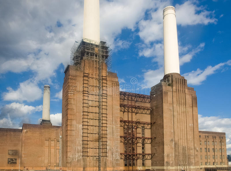 Battersea Powerstation London. Battersea Power Station in London England UK royalty free stock photography