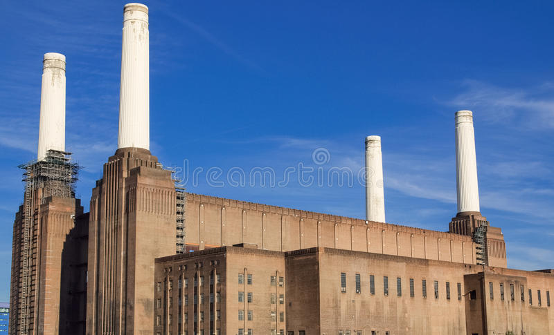 Battersea Powerstation London. Battersea Power Station in London England UK royalty free stock photos