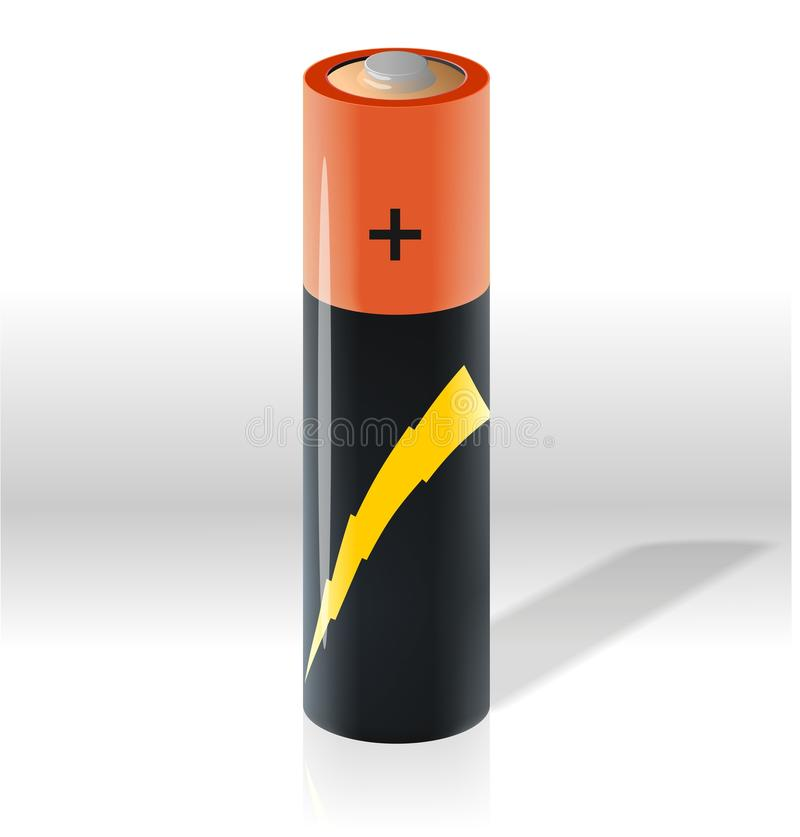 Download Battery stock vector. Illustration of cadmium, current - 20502975