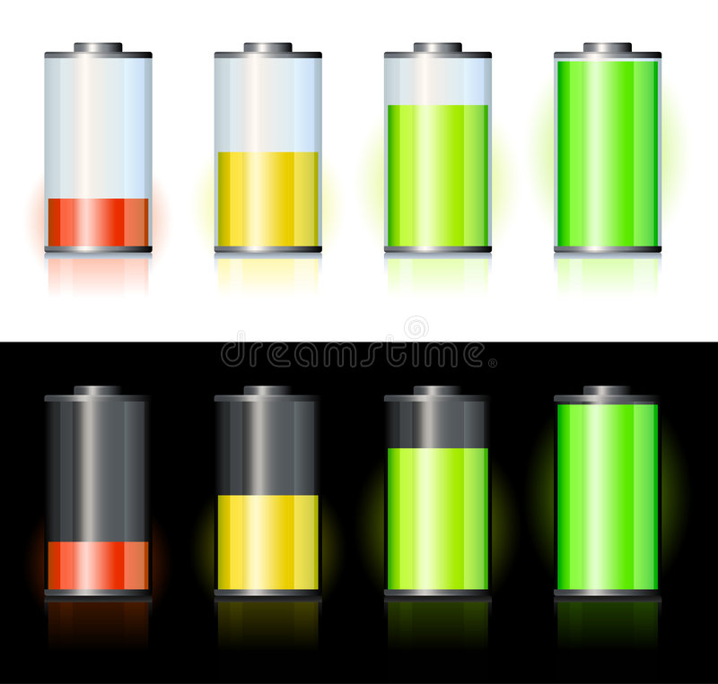 Download Battery stock vector. Image of acid, fuel, icon, symbol - 7321570